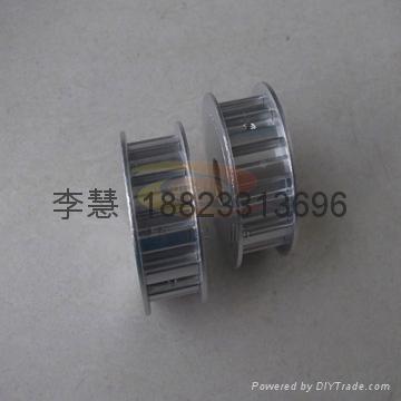 深圳各種同步帶輪 鋁合金同步輪 鋁質軸承 3