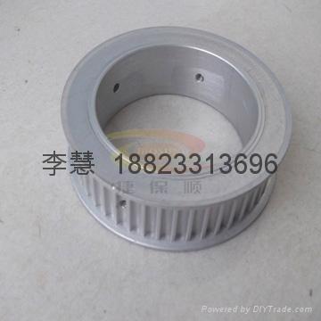 深圳各種同步帶輪 鋁合金同步輪 鋁質軸承 2