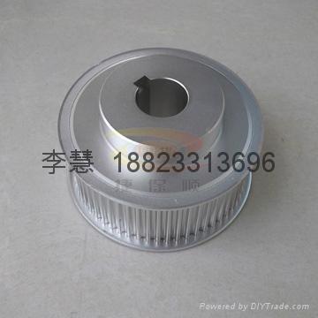 深圳各種同步帶輪 鋁合金同步輪 鋁質軸承 1