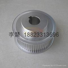 深圳各種同步帶輪 鋁合金同步輪 鋁質軸承