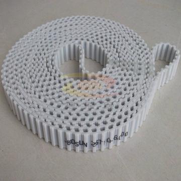 深圳雙面齒同步帶 白色加檔片傳動帶 工業皮帶 1
