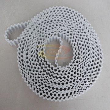 深圳雙面齒同步帶 白色加檔片傳動帶 工業皮帶 3