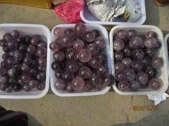天然紫水晶球