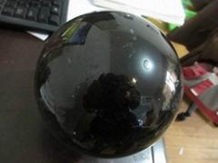 天然深茶晶球茶水晶球