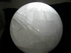 天然大水晶球
