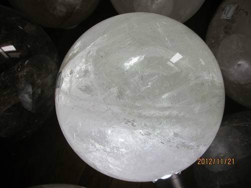 天然大水晶球 5
