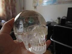 水晶骷髏頭