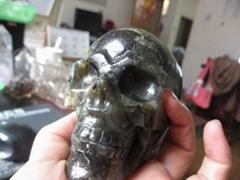 宝石水晶头骨