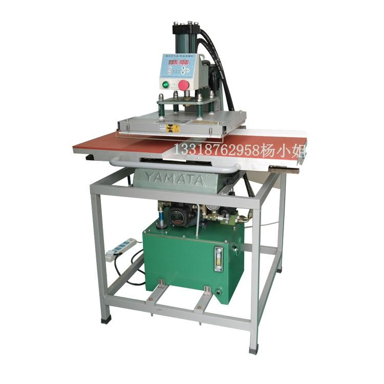液压双工位转印烫画机 2