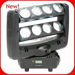 8x10W White LED Spider Moving Head Light