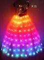 LED发光裙,LED发光礼服,发光新娘装 2