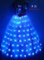 LED发光裙,LED发光礼服,发光新娘装 3