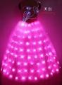 LED发光裙,LED发光礼服,发光新娘装 4