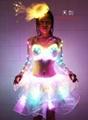 LED发光芭蕾服/荧光芭蕾裙/