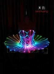 发光芭蕾表演服/LED芭蕾裙子/LED蓬蓬裙