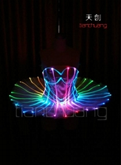Programmable LED Light Ballet Dancewear