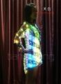 LED发光裙子/促销发光服/L