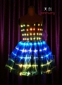 LED发光裙子/荧光礼服/发光