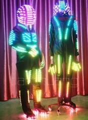 LED機器人/LED發光服裝/LED頭盔