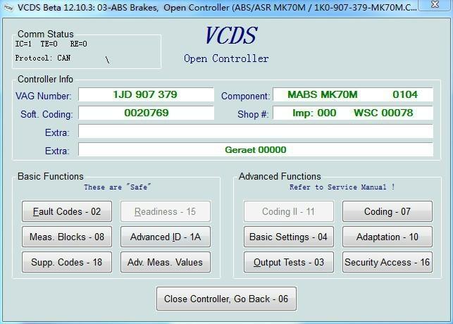 VAG 12 10 3 VCDS 12 10 3 VAG12 10 3 FT232RL ATMEGA162-(16AU)-TQFP44 -