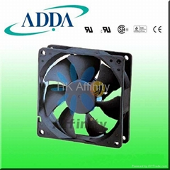 AQ8025  waterproof motorcycles cooling fan  80*80*25mm
