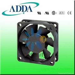 AD0612HS-A70GL ADDA  FAN 60X25 DC12V SLEEVE 25 AIRFLOW