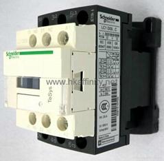 LC1D09M7C AC Contactor 9 Amp 3 Pole NO NC Contact 220V 50/60Hz Coil