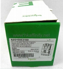 Schneider Circuit Breaker thermal-magnetic EZD100E 3P 100A