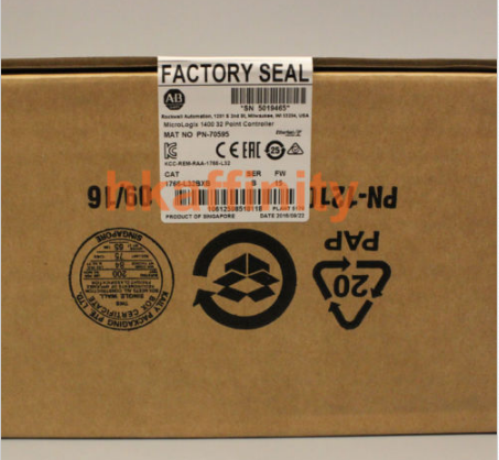 New AB Allen Bradley MicroLogix 1400 PLC 1766-L32BXB