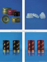 Aluminum Lid and Plastic Insert for Bottles