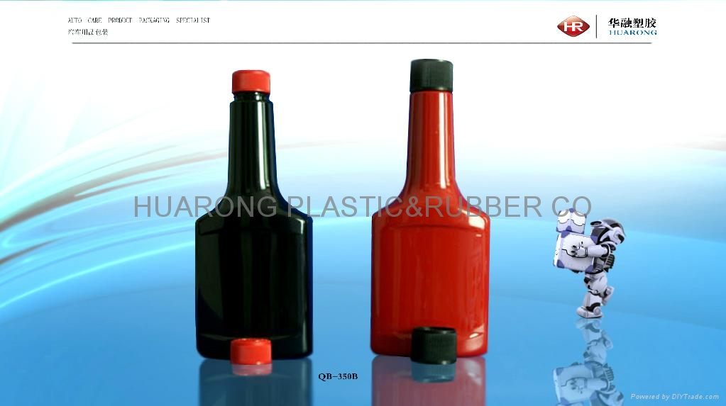 fuel additive plastic bottle qb 350 series hr china