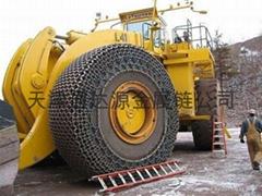 WA600装载机轮胎保护链