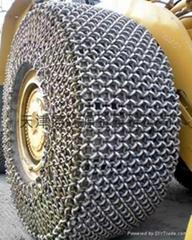 CAT988大型装载机轮胎保护链