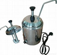 Nacho Cheese Heating Pump Dispenser