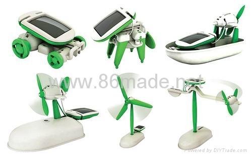 太陽能6合1玩具套裝 3