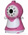 "3.5""LCD wireless night vision baby monitor CCTV camera"