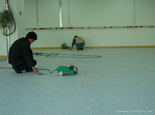 中山防靜電PVC卷材地板 2