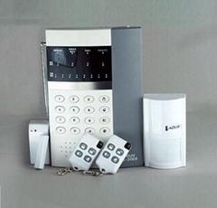 8防區自動語音無線防盜報警器