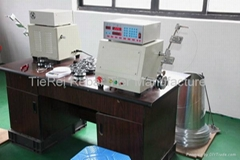 Automatic spool wire spooling winding machine for rebar tie wire coil