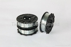 TW897A 0.8mm galvanized rebar tie wire coil spool