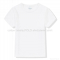 Modal blank short sleeve t shirts solid color basic tees