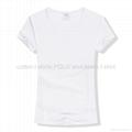 莫代尔纯色T恤短袖打底衫文化衫 2