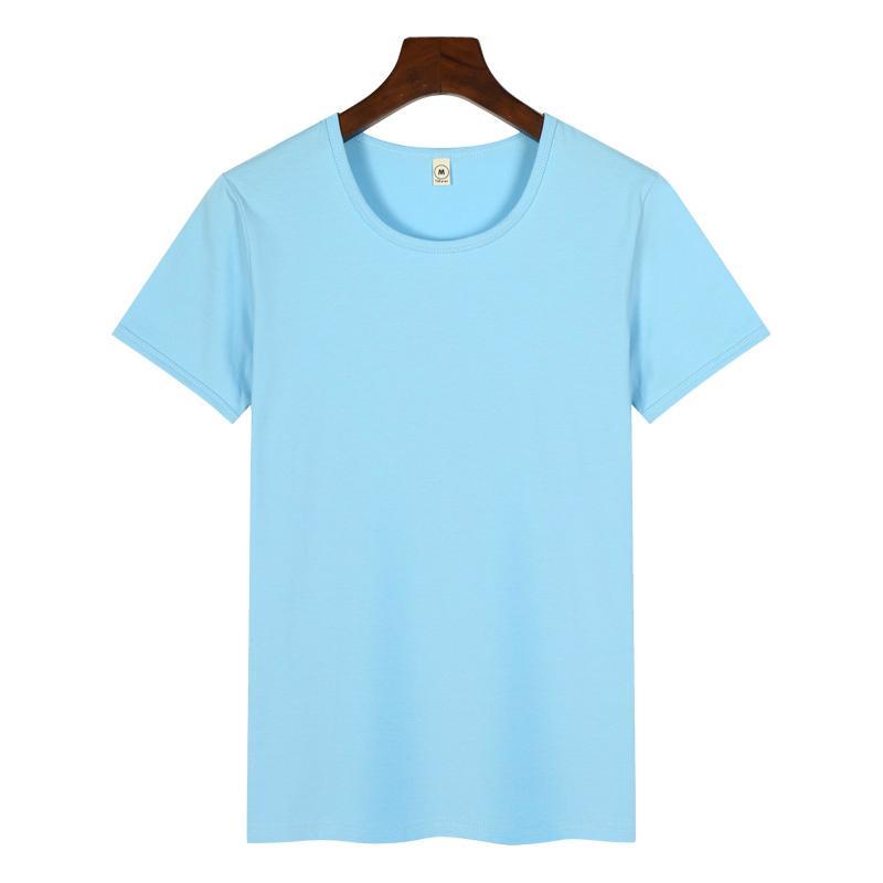 高档圆领广告衫T恤印图印字 1