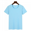High Quality T-shirts O-neck Short Sleeve Blank t-shirts customize Printing