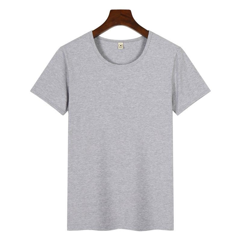 高档圆领广告衫T恤印图印字 2