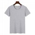 高檔圓領廣告衫T卹印圖印字 2