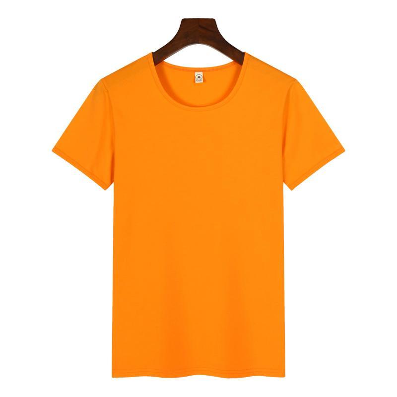 高档圆领广告衫T恤印图印字 3