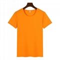 高檔圓領廣告衫T卹印圖印字 3