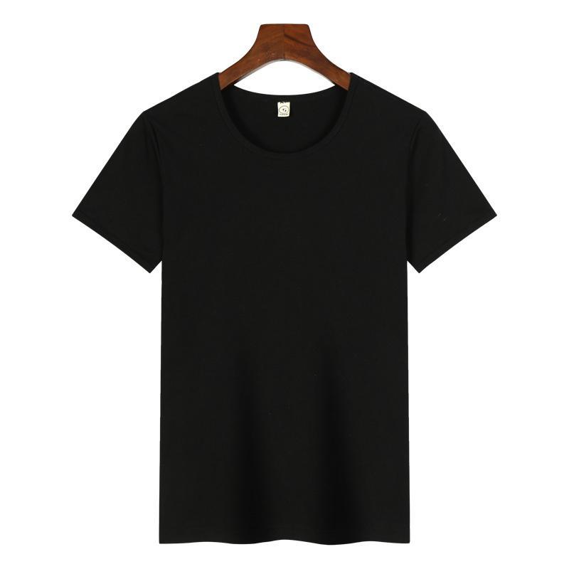 高档圆领广告衫T恤印图印字 4