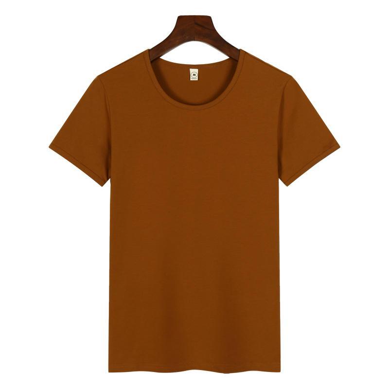 高档圆领广告衫T恤印图印字 5